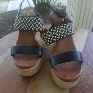 Lovely Jessica Simpson Wedges